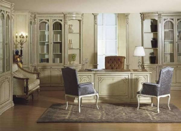 дизайн маленького кабинета в квартире, фото 30