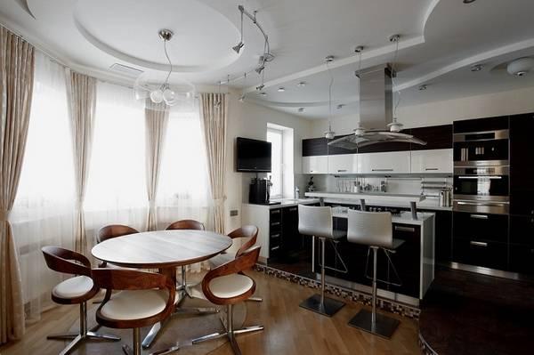 кухня с эркером, фото 22