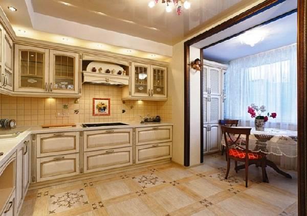 маленькая кухня с балконом, фото 30