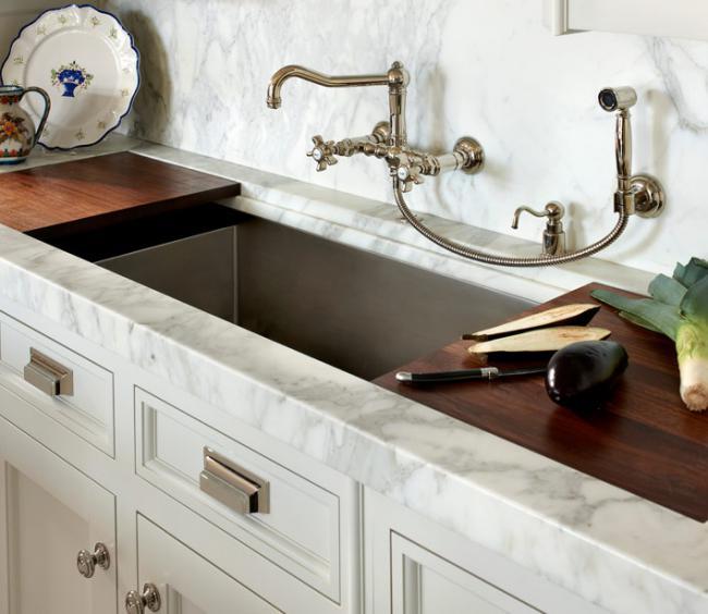 смеситель для кухни с выдвижной лейкой, фото 30