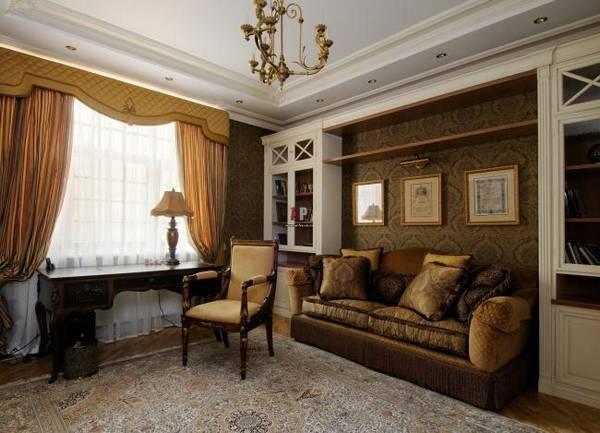 дизайн маленького кабинета в квартире, фото 31
