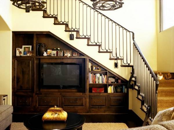 шкаф под лестницей своими руками, фото 26