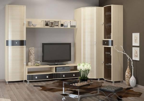 современные модульные стенки в гостиную фото, фото 31