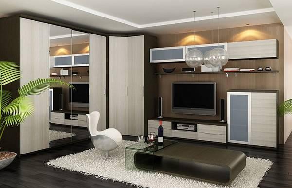 угловая модульная мебель для гостиной, фото 32