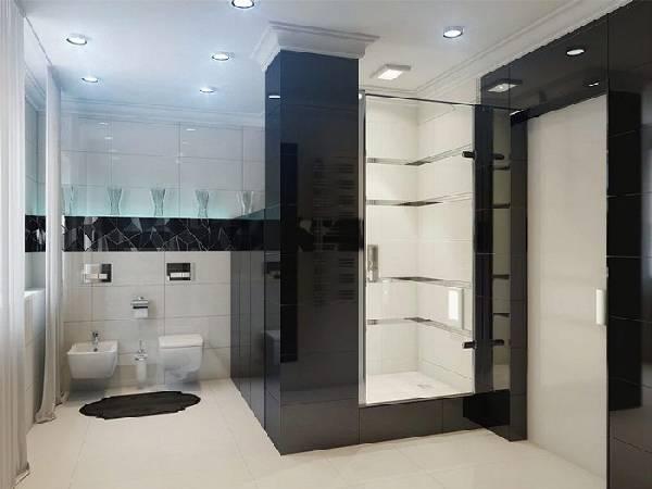 дизайн ванной комнаты с туалетом фото, фото 34