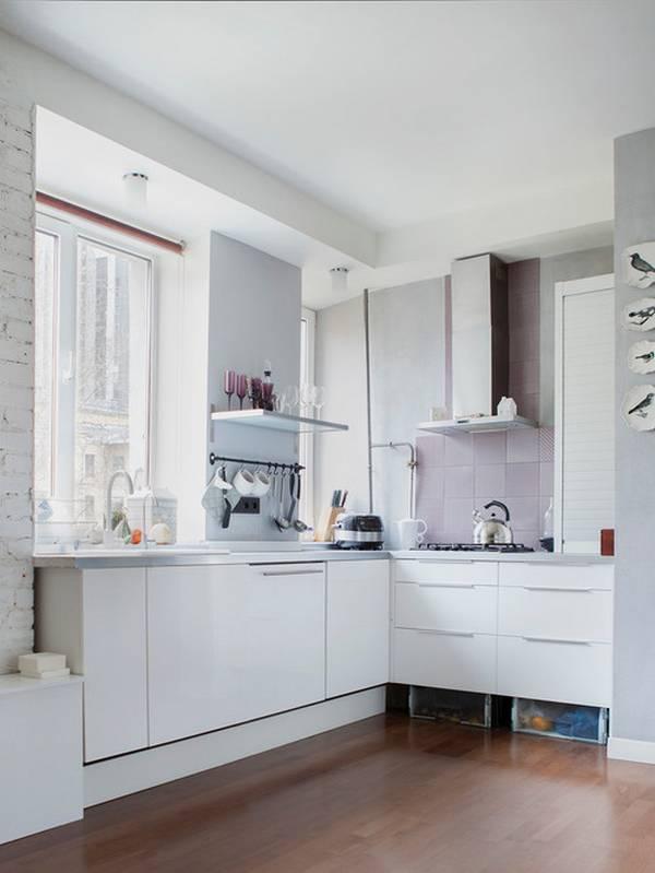 дизайн маленькой кухни фото, фото 20