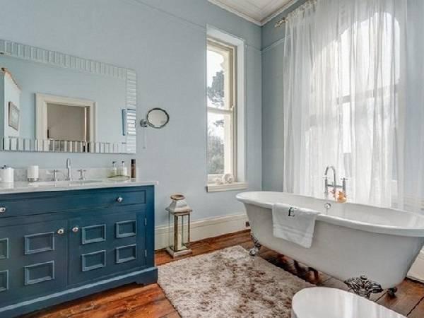 дизайн ванной комнаты с туалетом и стиральной машиной, фото 35