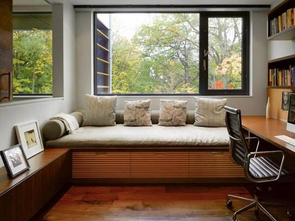 дизайн рабочего кабинета в квартире, фото 36