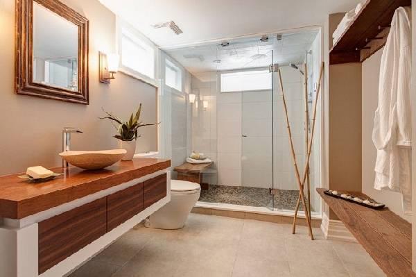 дизайн ванных комнат, совмещенных с туалетом фото, фото 37