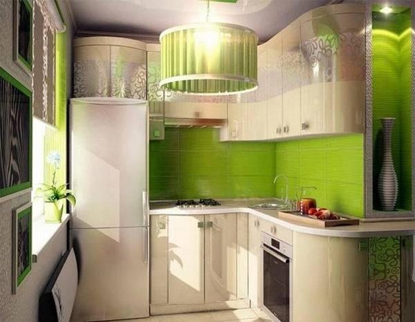 дизайн маленькой угловой кухни, фото 21