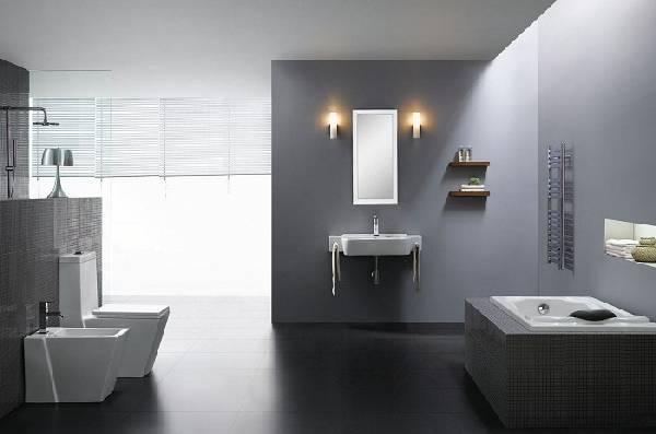 дизайн ванной совмещенной с туалетом, фото 38