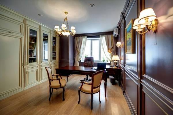 дизайн современного кабинета квартиры, фото 38