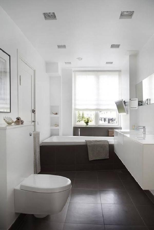 дизайн ванной комнаты совмещенной с туалетом, фото 39