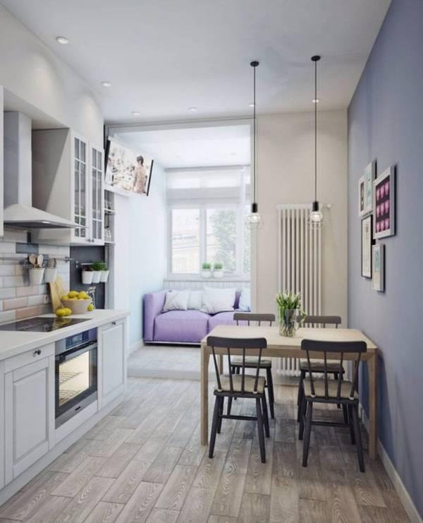 интерьер кухни с эркером фото, фото 38