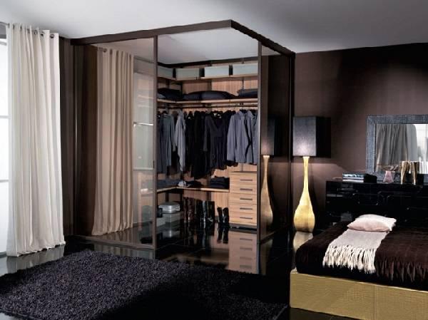 Планировка гардеробной с размерами, фото 12