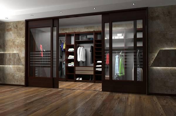 раздвижные двери купе для гардеробной, фото 4