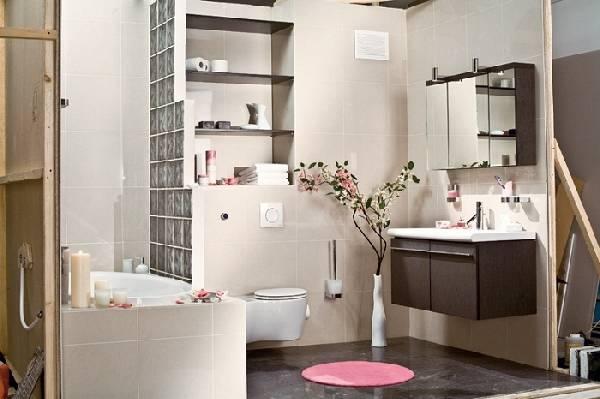 туалет совмещенный с ванной дизайн фото, фото 40