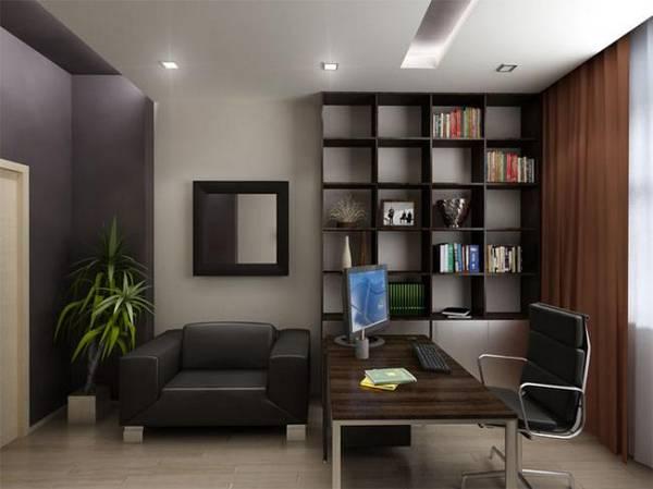 дизайн современного кабинета квартиры, фото 40