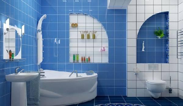 дизайн маленькой ванной комнаты совмещенной с туалетом, фото 42