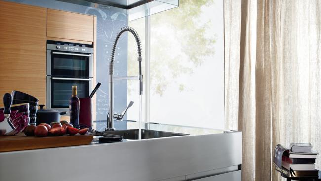 смеситель для кухни с высоким изливом, фото 43