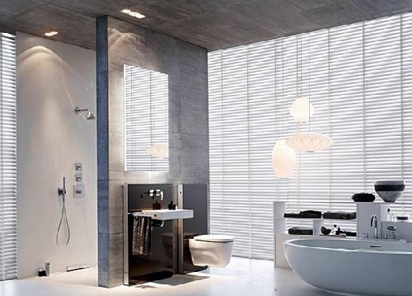 дизайн ванной комнаты с туалетом фото, фото 43