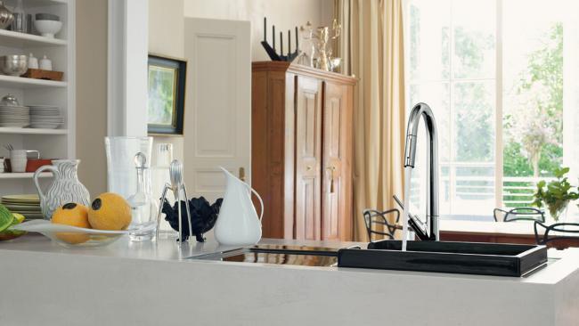 кран смеситель для кухни, фото 44