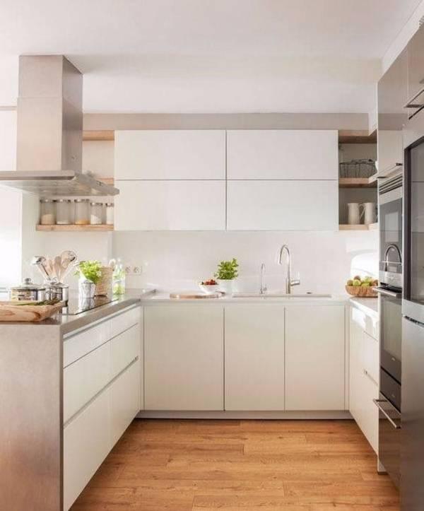 современный дизайн маленькой кухни, фото 17
