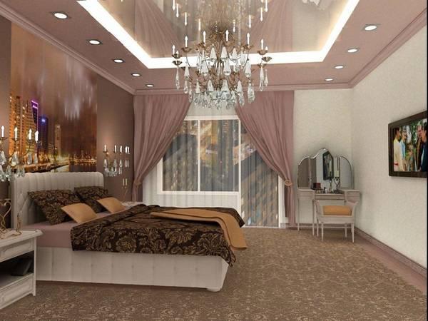 люстра в спальню, фото 29