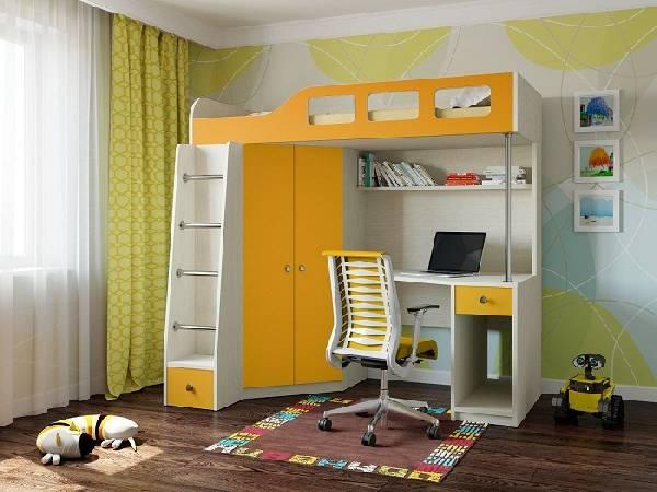 мебель для маленькой детской комнаты мальчика, фото 23