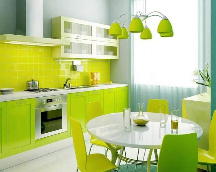 материалы для отделки стен на кухне, фото 20