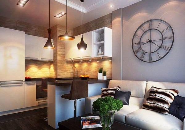 Дизайн двухкомнатной квартиры 50 кв.м