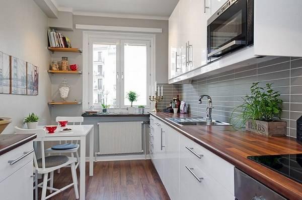идеи дизайна маленькой кухни, фото 44
