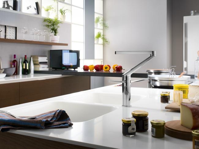 смеситель для кухни однорычажный, фото 6