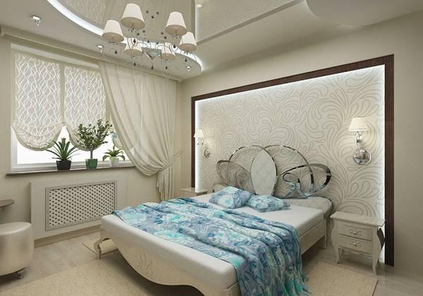люстры для спальни маленьких комнат, фото 30