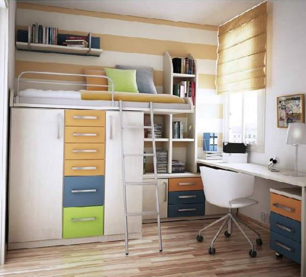 мебель для маленькой детской комнаты мальчика, фото 24