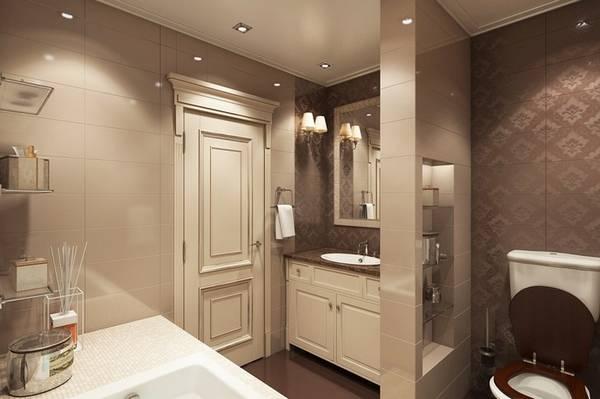интерьеры ванных комнат в классическом стиле фото, фото 6