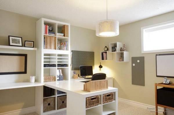 дизайн интерьера кабинета в квартире, фото 7