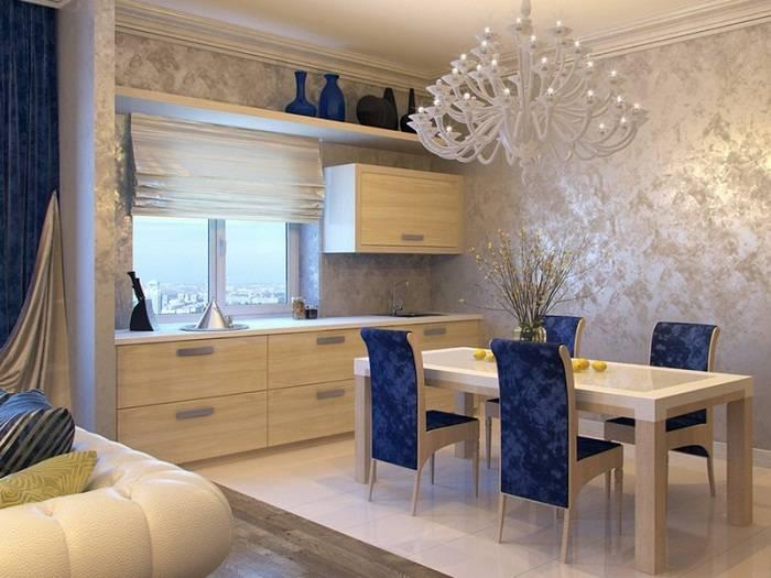 фото декор стен на кухне