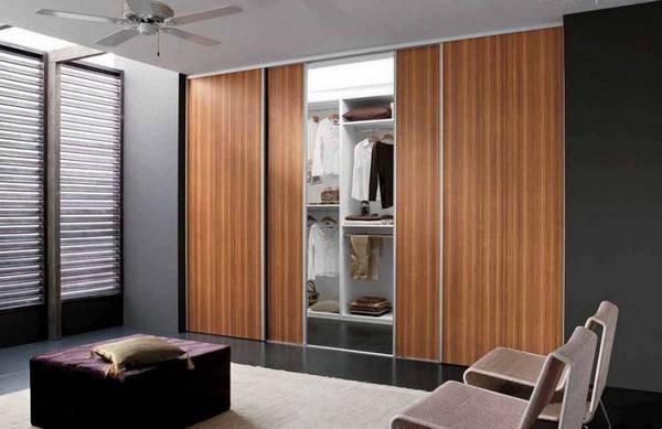 раздвижные двери купе для гардеробной, фото 7