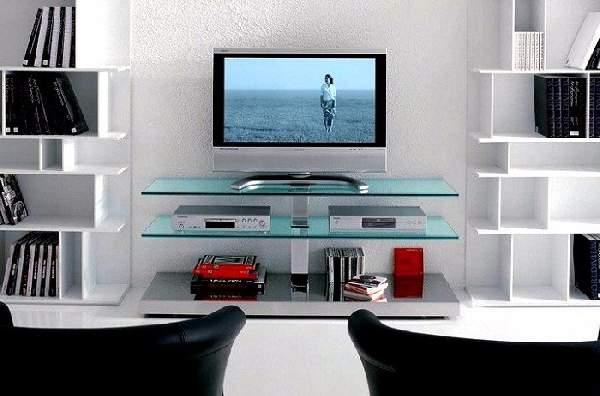 стеклянные тумбы под телевизор фото, фото 25