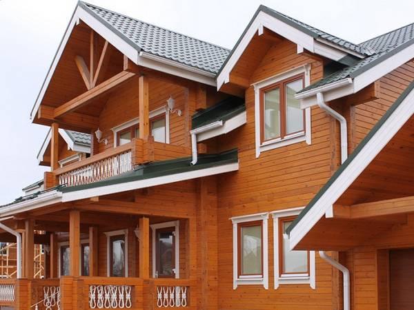 Финские наличники на окна в деревянном доме, фото 19