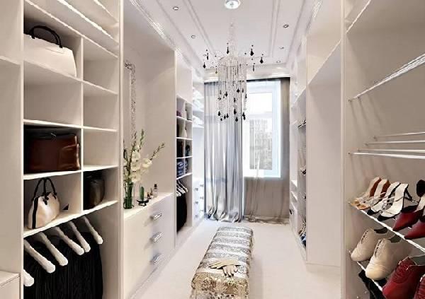 Маленькая гардеробная комната планировка, фото 9