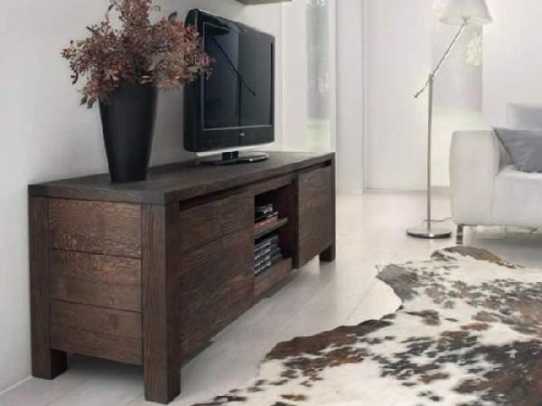 Тумба под телевизор всовременном интерьере на40 фото