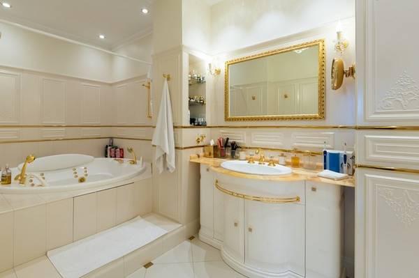 ванная комната в классическом стиле фото, фото 8