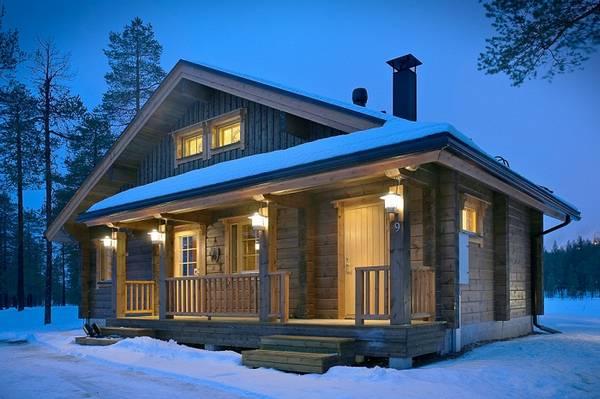 Финские наличники на окна в деревянном доме, фото 20