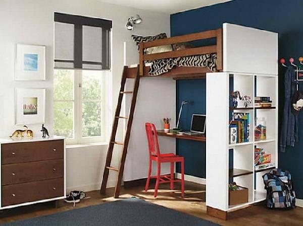 мебель для маленькой детской комнаты мальчика, фото 27