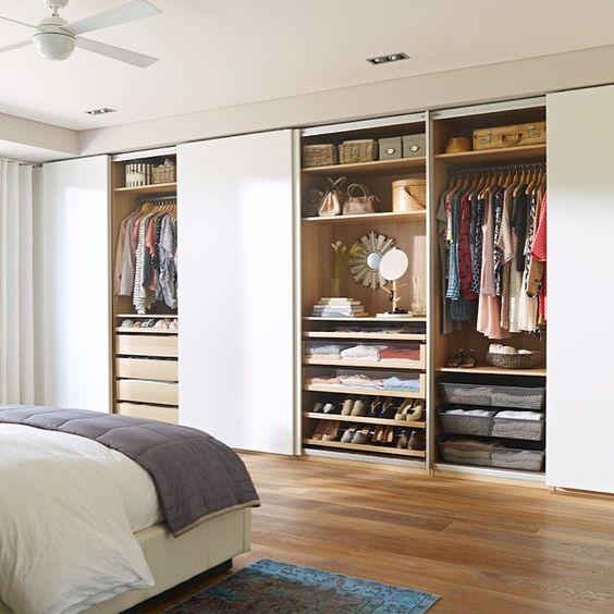 Раздвижные двери в гардеробную комнату, фото 31