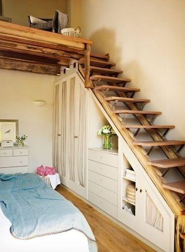 встроенные шкафы под лестницей фото, фото 4