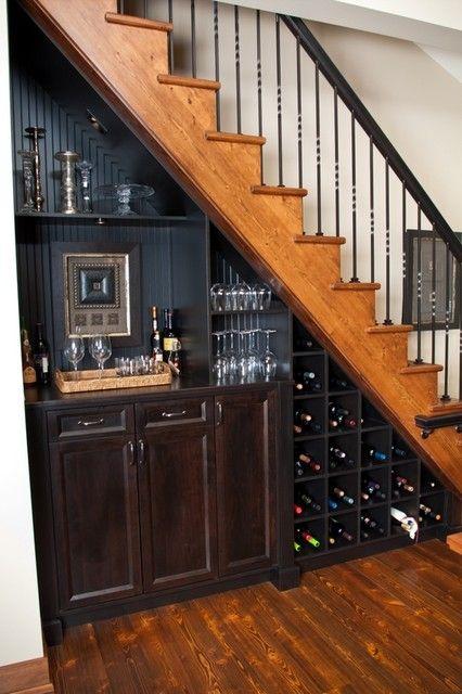 встроенный шкаф под лестницей, фото 5