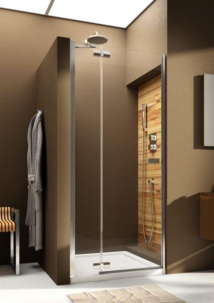 Раздвижные стеклянные двери для душа на заказ в современном стиле